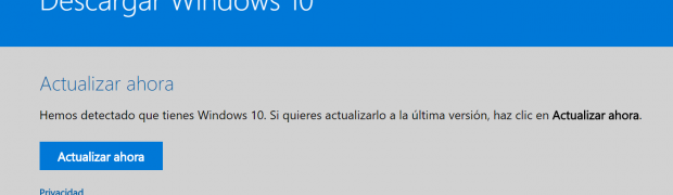 ¡Obtén la actualización Windows 10 Fall Creators Update ya!