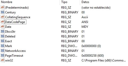 Javier Mendiburu | Claves del registro rleacionadas con la importación o vinculación de ficheros DBF en Microsoft Access
